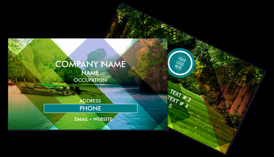 Landscape Design Business Cards Awesome Line Business Cards Printing In Miami