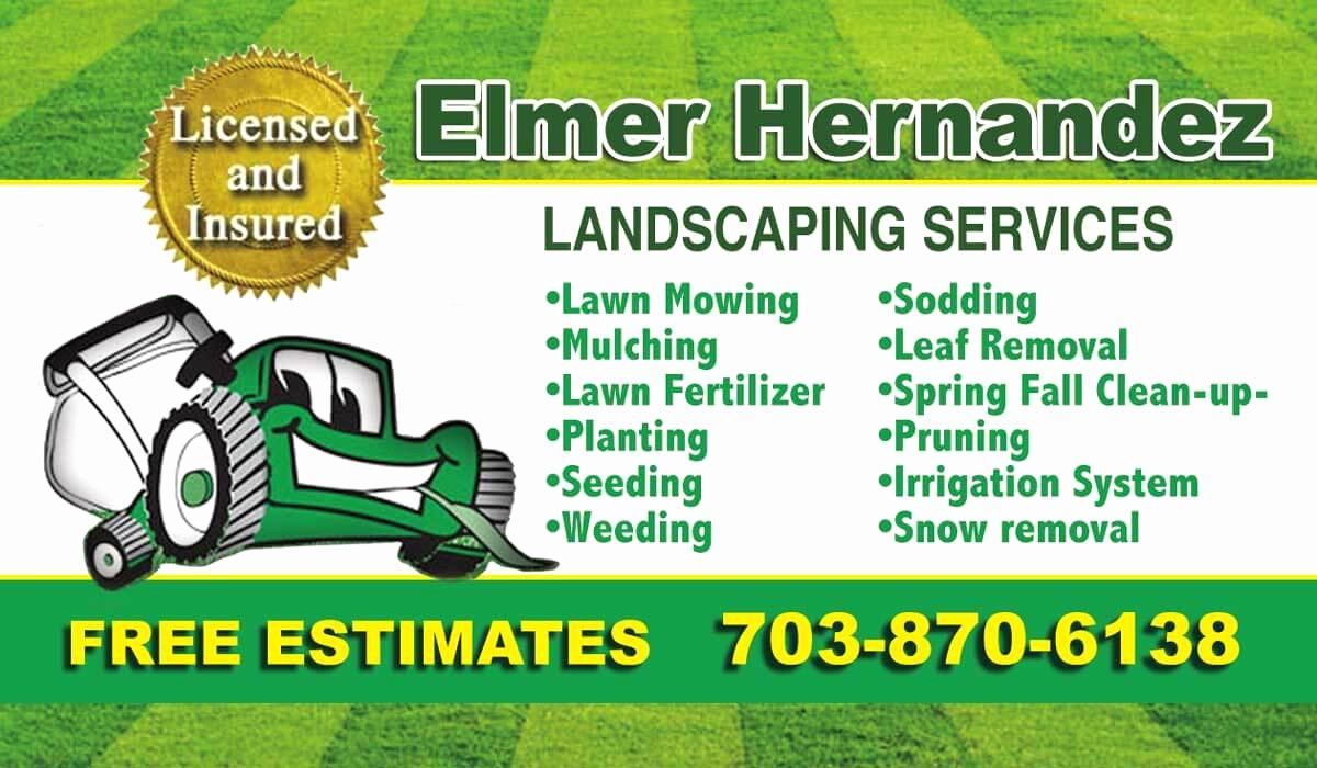 Landscape Design Business Cards Best Of Need Business Card Design In Lorton Va