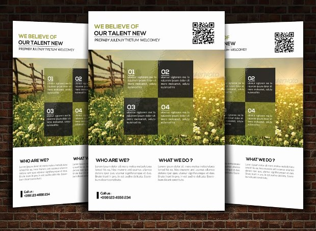 Landscape Flyer Template Free Inspirational 18 Landscaping Flyer Designs Psd Ai Vector Eps