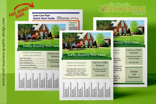 Landscape Flyer Template Free Luxury Printable Lawn Care Business Flyer Templates