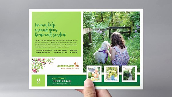 Landscape Flyer Template Free Unique 27 Landscaping Flyer Templates Free & Premium Download
