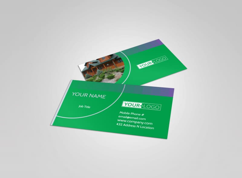 Landscaping Business Card Template Best Of Residential Landscaping Business Card Template