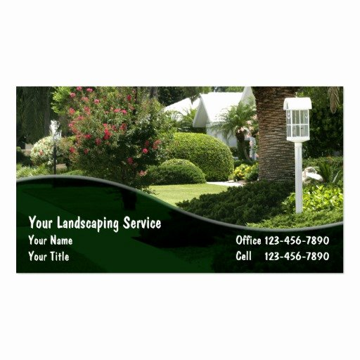 Landscaping Business Card Template Fresh Lawn Care Business Card Templates