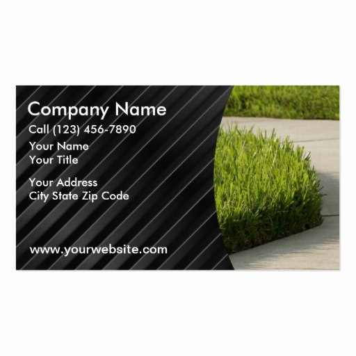 Landscaping Business Card Template Inspirational Landscaping Business Cards