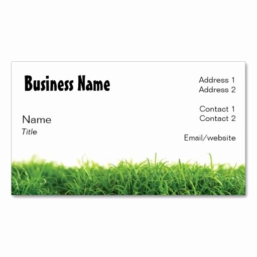 Landscaping Business Card Template Unique 10 Images About Lawn Care Business Cards On Pinterest