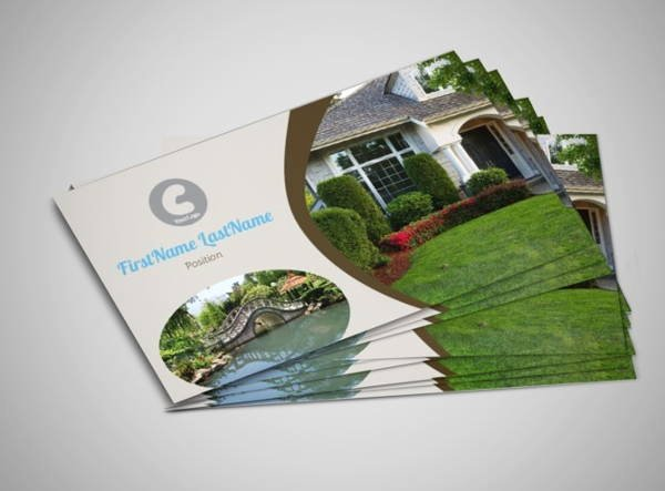 Landscaping Business Cards Ideas Awesome 10 Best Landscaping Business Card Templates Pages Ai Psd