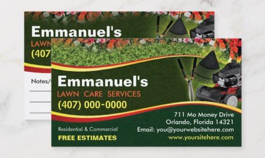 Landscaping Business Cards Ideas Elegant 27 Unique Landscaping Business Cards Ideas & Examples