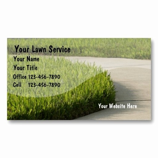 Landscaping Business Cards Ideas Inspirational 1000 Images About Lawn Service Business Cards On Pinterest