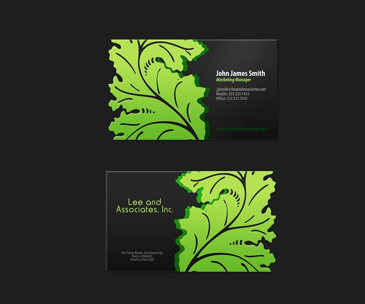 Landscaping Business Cards Ideas Inspirational 27 Unique Landscaping Business Cards Ideas & Examples