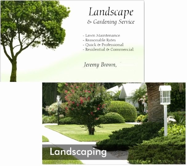 Landscaping Business Cards Ideas Inspirational top 10 Marketing Ideas for Promoting Your Landscaping Business