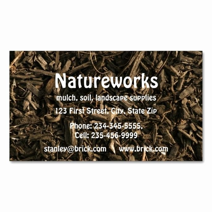Landscaping Business Cards Ideas Luxury 1976 Best Gardener Business Cards Images On Pinterest