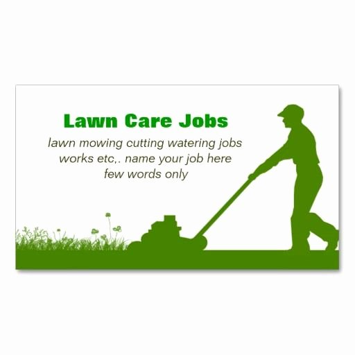 Landscaping Business Cards Templates Free Awesome 210 Best Lawn Care Business Cards Images On Pinterest