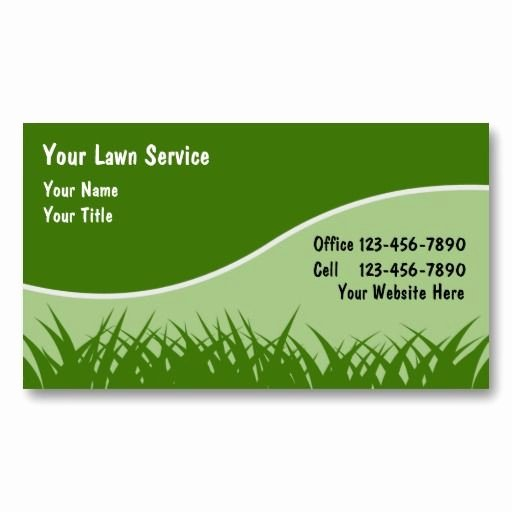 Landscaping Business Cards Templates Free Awesome 22 Best Images About Lawn Service Business Cards On