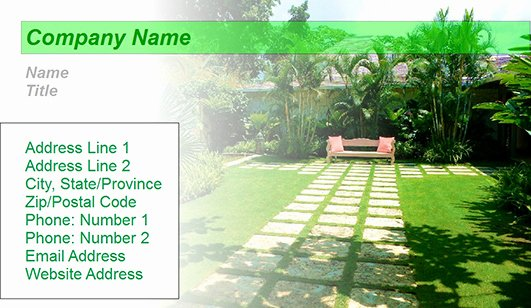 Landscaping Business Cards Templates Free Beautiful Landscaping Design Business Card Templates – Juicybc Blog