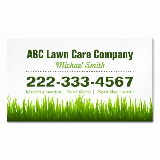 Landscaping Business Cards Templates Free Best Of 1000 Images About Landscaping Business Cards On Pinterest