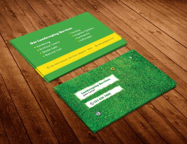 Landscaping Business Cards Templates Free Inspirational 10 Best Landscaping Business Card Templates Pages Ai