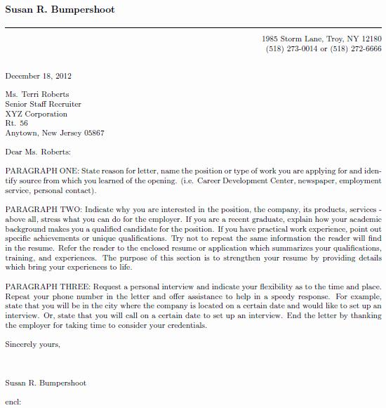 Latex Cover Letter Templates Beautiful Job Application Template Latex