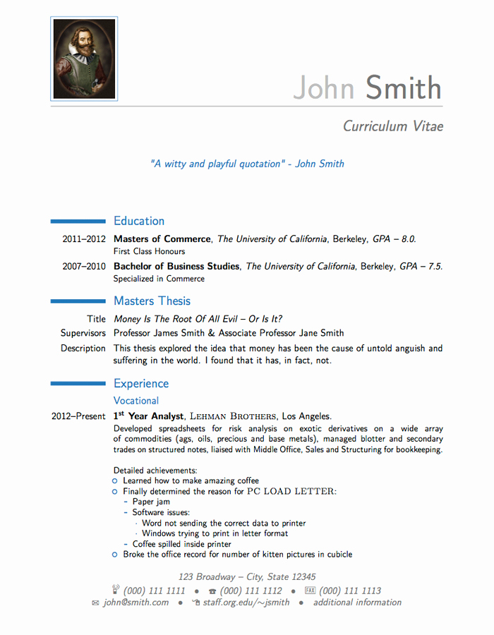 Latex Cover Letter Templates Lovely Nice Latex Template