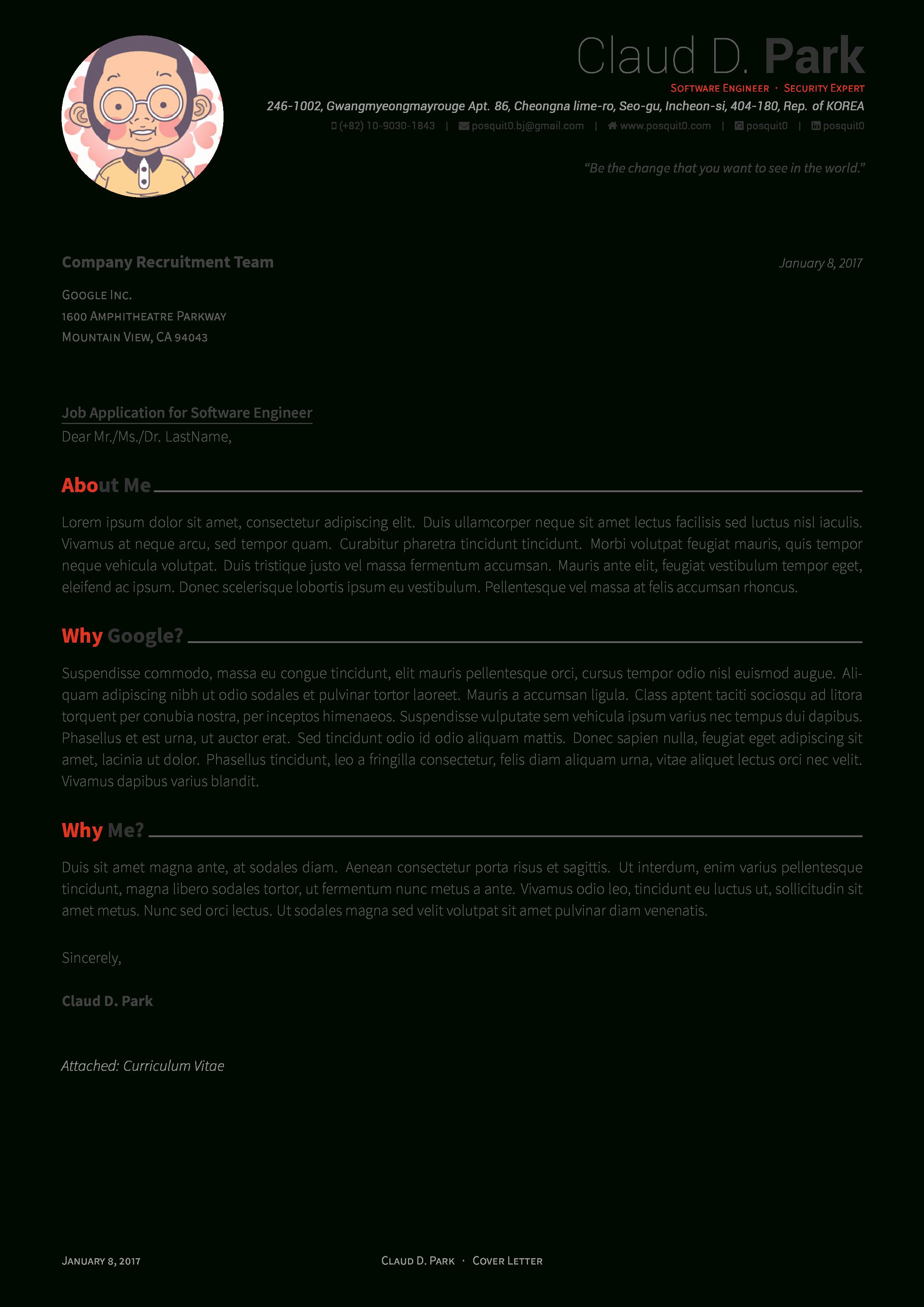 Latex Cover Letter Templates Unique Latex Resume Template 2017