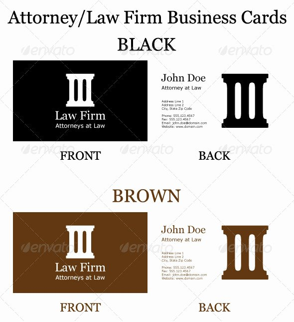 Law Firm Business Cards Awesome attorney Law Firm Business Cards by Jacorre