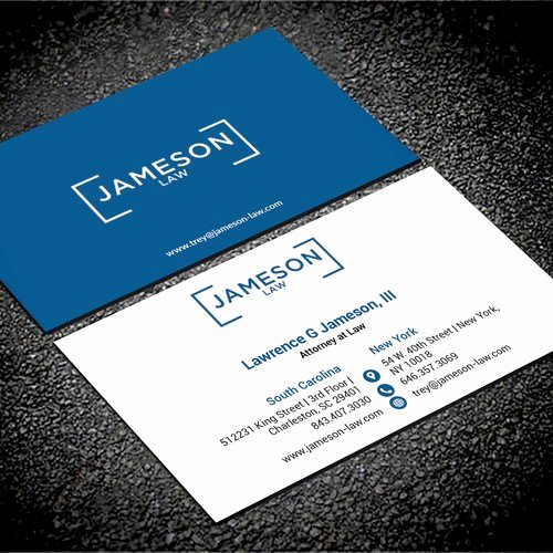 Law Firm Business Cards Awesome Law Firm Business Card