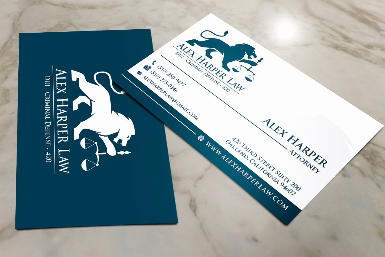 Law Firm Business Cards Fresh Lawyer Business Card attorneys Legal & Law Firms