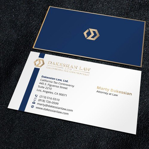 create business card design small mighty law firm