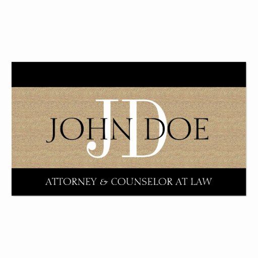 Law Firm Business Cards Luxury attorney Lawyer Law Firm Monogram Textured Tan Business