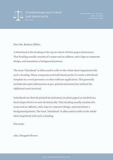 Law Firm Letterhead Templates Beautiful Customize 833 Letterhead Templates Online Page 5 Canva