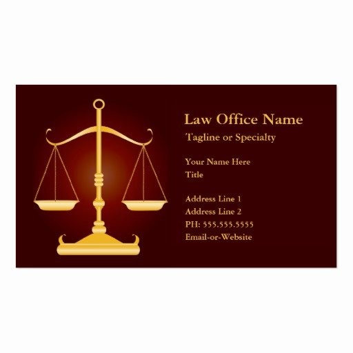 Law Office Business Cards Best Of Law Office Business Cards