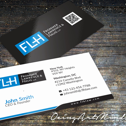 Law Office Business Cards Luxury Create A Business Card for An Intellectual Property Law Firm