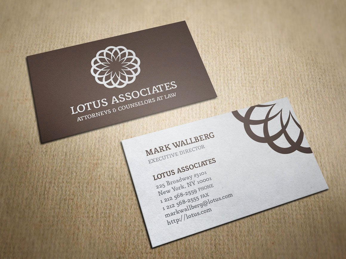 Law Office Business Cards New Vintage Law Firm Business Card Business Card Templates On Creative Market