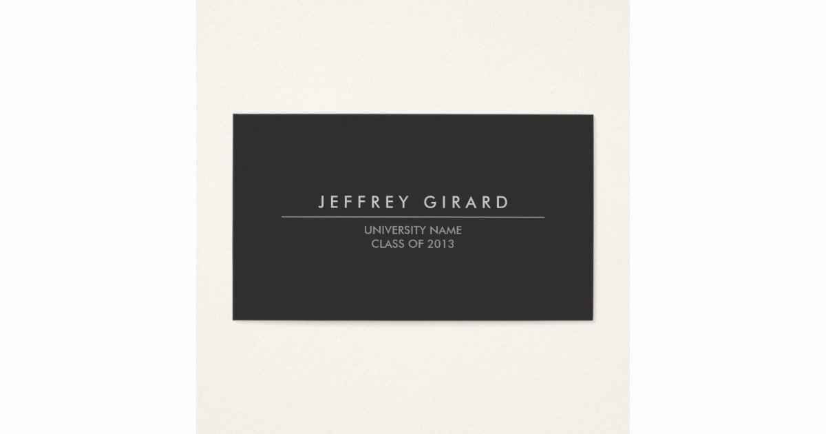 Law Student Business Cards Luxury Law Student Modern Business Card