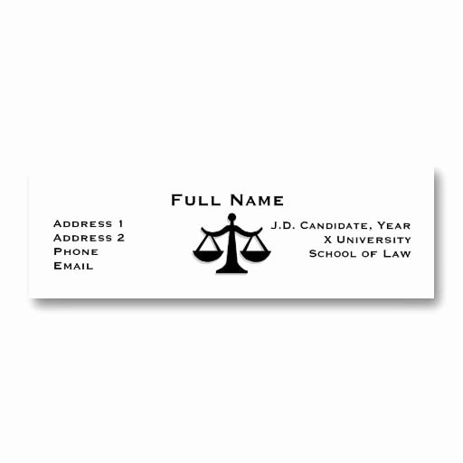 Law Student Business Cards Unique 17 Best Graduation Return Address Labels Images On