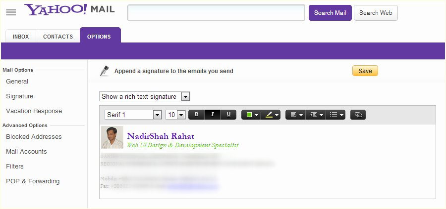 Law Student Email Signature Best Of How Do I Add or Change My Email Signature In Yahoo