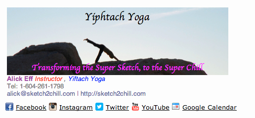 Law Student Email Signature New Get A Free Yoga Instructor Email Signature Professional Branding Center