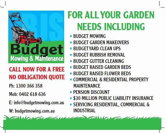 Lawn Care Advertising Flyers Best Of Budget Mowing & Maintenance In St Albans Melbourne Vic Gardeners Truelocal