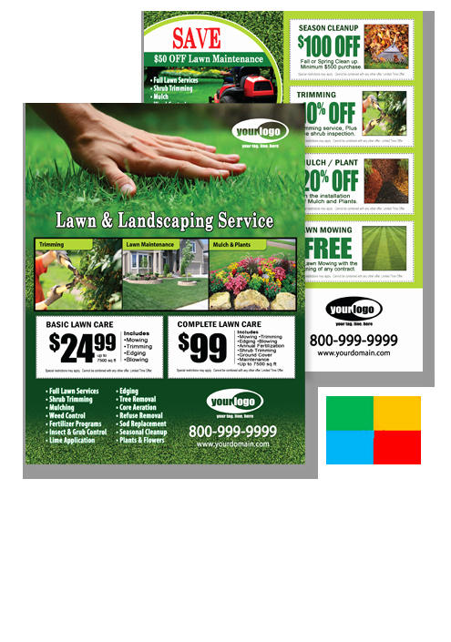 Lawn Care Advertising Flyers Luxury Lawn Maintenance Flyer Postcards Door Hangers Eddm and Business Cards Templates