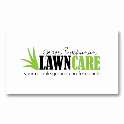 Lawn Care Business Logos Unique Lawn Care and Yard Maintenance Business Card Zazzle Lawn Service Business Cards