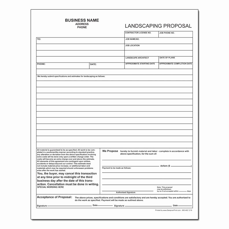 Lawn Care Estimate form Lovely Lawn Care Estimate Lawn Care Bid form Sheets