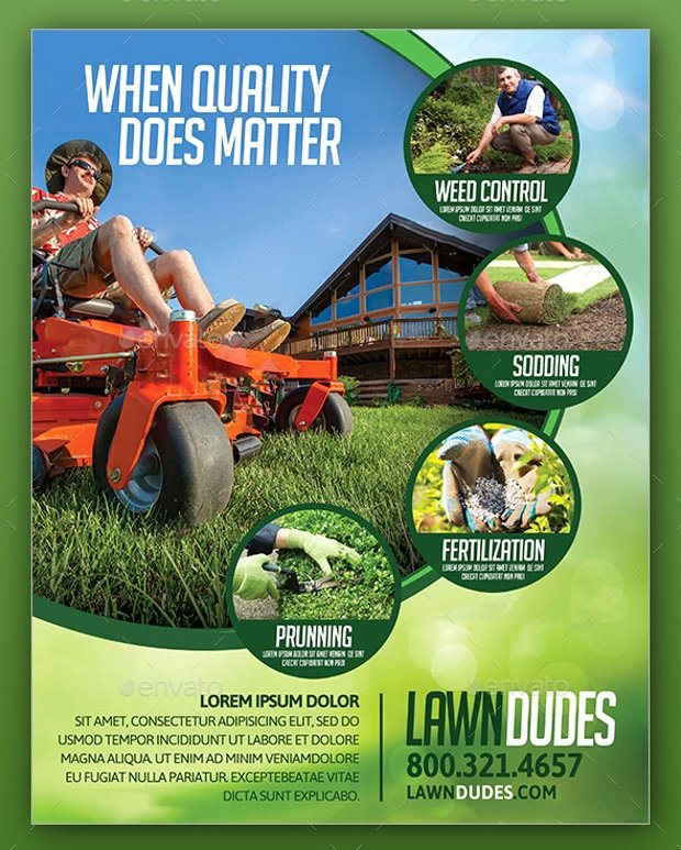 Lawn Care Flyer Ideas Beautiful 18 Landscaping Flyer Designs Psd Ai Vector Eps