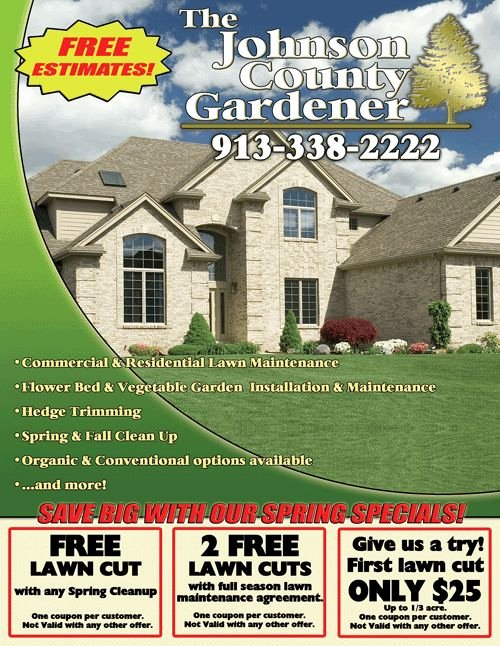 Lawn Care Flyer Ideas Elegant Lawn Care Flyer Lawn Care Business Tips Pinterest
