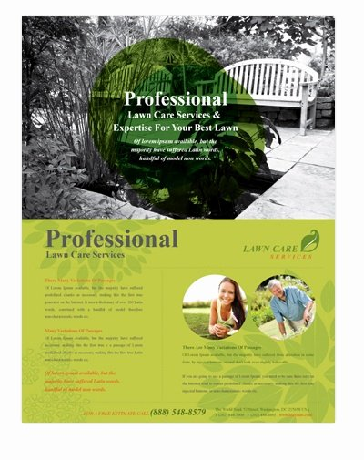 Lawn Care Flyer Template Awesome 21 Best Images About A5 Flyers On Pinterest