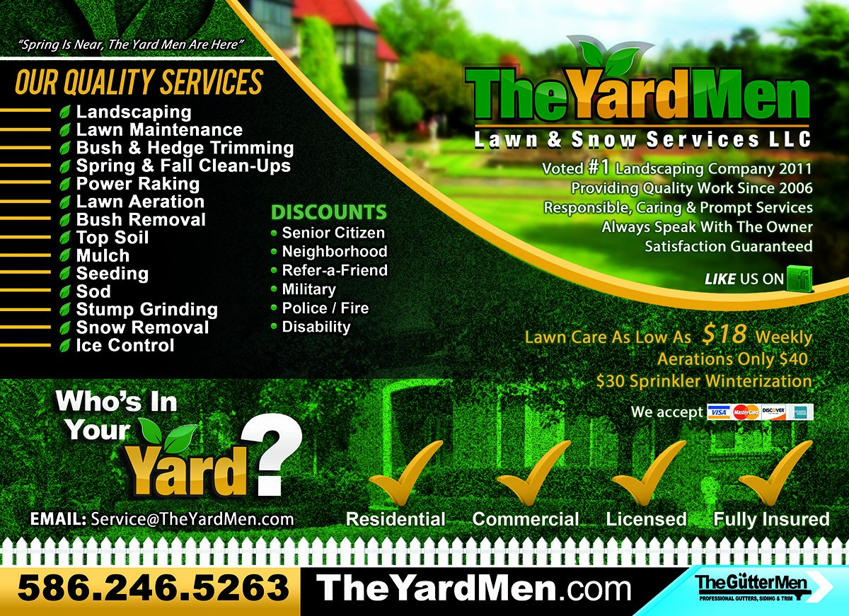 Lawn Care Flyer Template Awesome Printable Lawn Care Flyers – Jowo