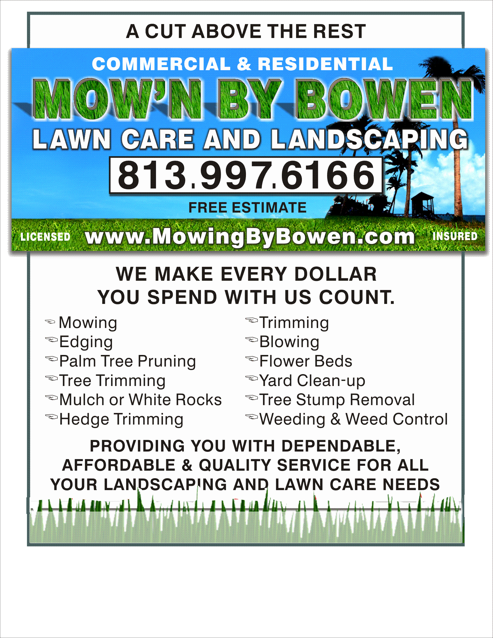 Lawn Care Flyer Template Elegant Here is My Collection Marketing Ideas for Landscaping Business