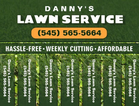 Lawn Care Flyer Template Free New Owner Operator Resume