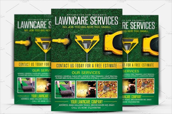 Lawn Care Flyer Template Fresh 14 Lawn Care Flyer Templates Free Premium Psd Illustrator Downloads