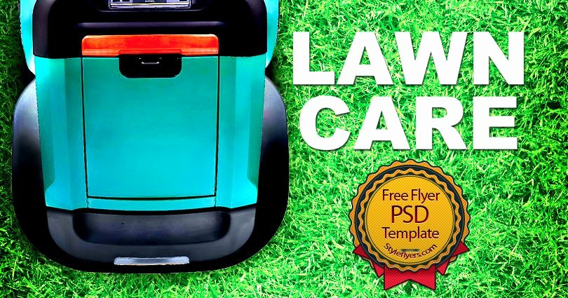 Lawn Care Flyer Template New Lawn Care Free Psd Flyer Template Free Download Styleflyers