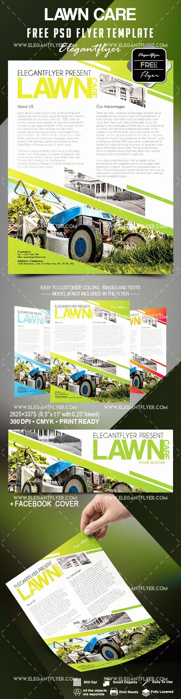 Lawn Care Flyers Template Unique Lawn Care Flyers Templates Free – by Elegantflyer