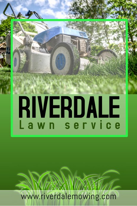 Lawn Mower Flyer Template Fresh Lawn Service Flyer Template